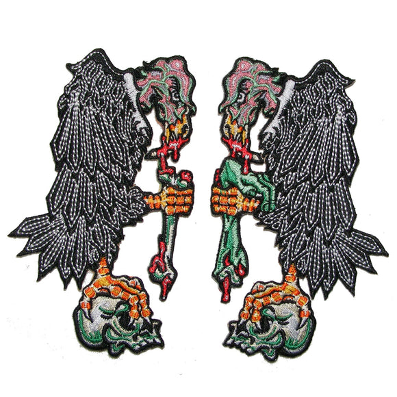 Vulture Patch Pair - DeadRockers