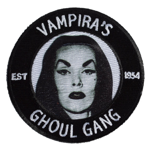Vampira Ghoul Gang Patch - DeadRockers