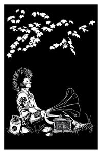 Peaceful Punk Art Print