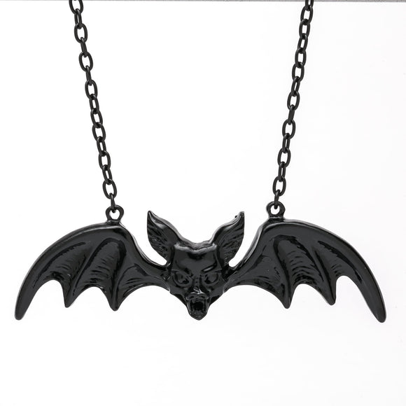 Black Bat Pendant