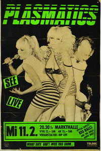 Plasmatics Show Flier Fine Art Print - DeadRockers