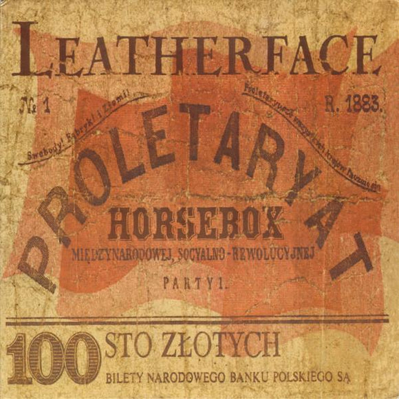 Leatherface ‎- Horsebox LP