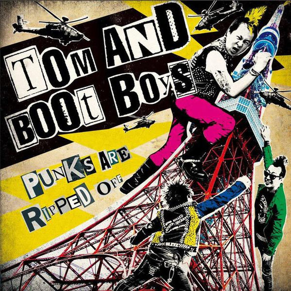 Tom And Boot Boys - Punks Are Ripped Off 7