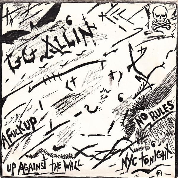 GG Allin - No Rules 7""