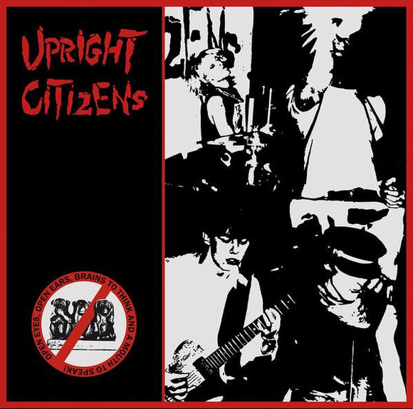 Upright Citizens ‎- Open Eyes, Open Ears, Brains To Think & A Mouth To Speak! LP