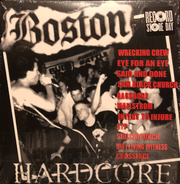COMP Boston Hardcore - 89-91 LP