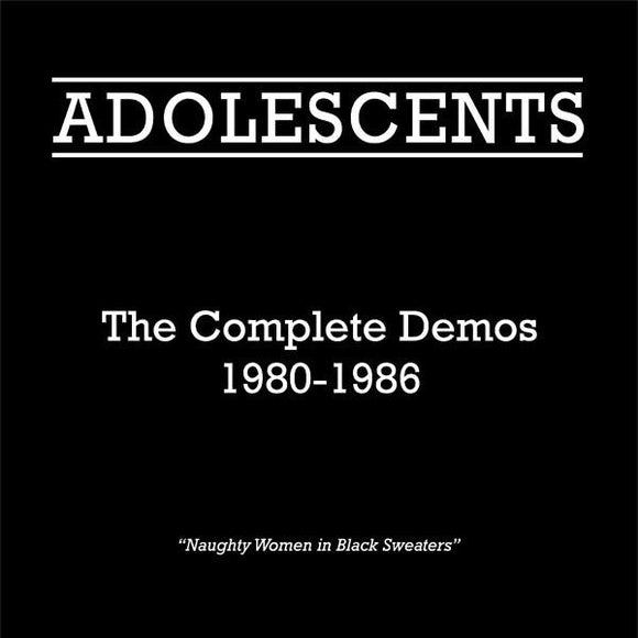 Adolescents - Complete Demo 80 to 86 LP