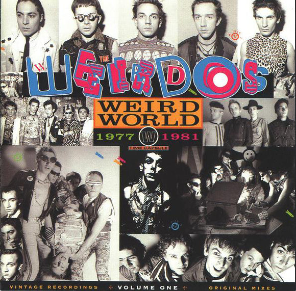 The Weirdos - Weird World Volume 1 LP