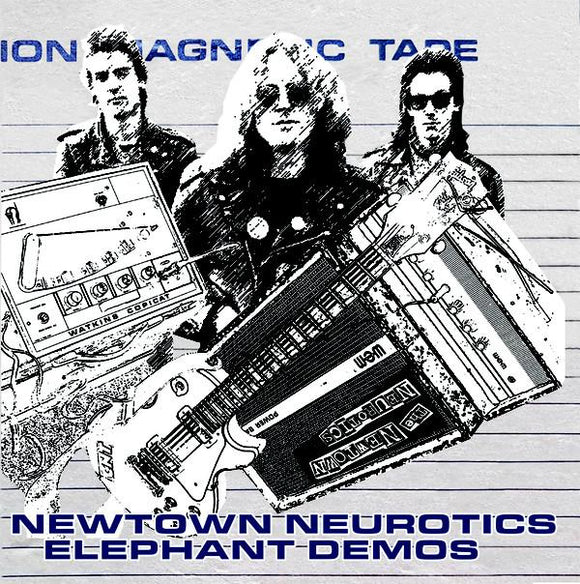 Newtown Neurotics ‎- The Elephant Demos (Gatefold) LP