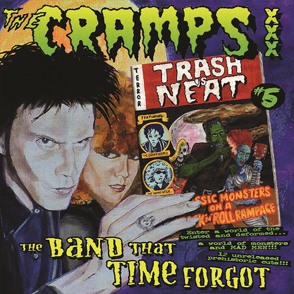 The Cramps ‎- Trash Is Neat #5, The Band That Time Forgot LP
