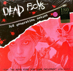 Dead Boys - 3rd Generation Nation Limited Edition Color Vinyl LP - DeadRockers