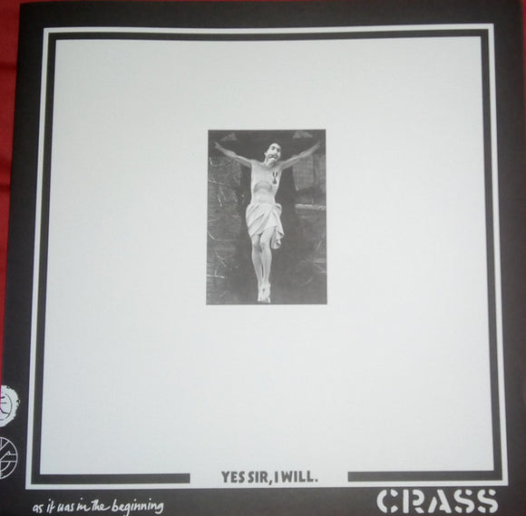Crass ‎- Yes Sir, I Will. LP