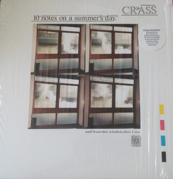 Crass ‎- Ten Notes On A Summer's Day LP