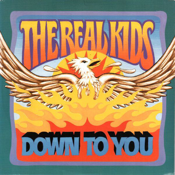 The Real Kids - Down To You 7