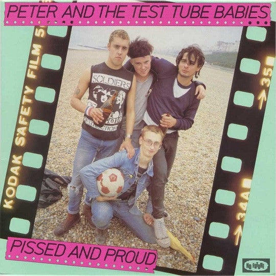 Peter and the Test Tube Babies - Pissed and Proud - LP