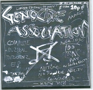 "Genocide Association - Sonik Lobotomy Tape 7"" - DeadRockers"