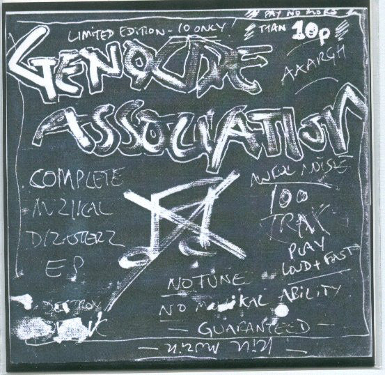 Genocide Association - Sonik Lobotomy Tape 7