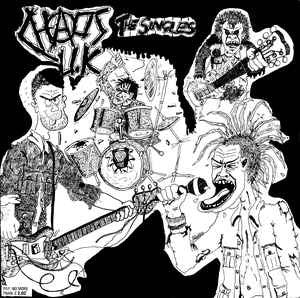 Chaos UK - The Singles LP - DeadRockers