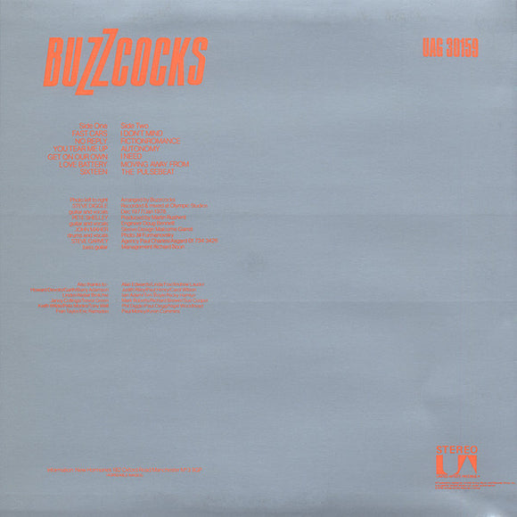 Buzzcocks - Another Music in a Different Kitchen LP - DeadRockers