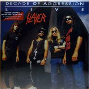 Slayer ‎- Decade Of Aggression Live 2XLP