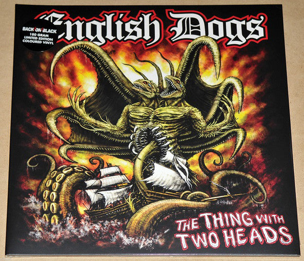 English Dogs - The Thing with To Heads LP - DeadRockers