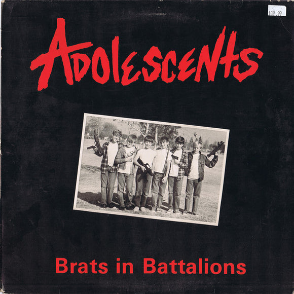 Adolescents - Brats in Battalion LP - DeadRockers
