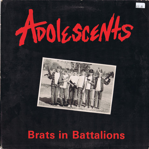 Adolescents - Brats in Battalion LP
