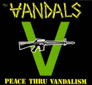The Vandals ‎- Peace Thru Vandalism LP