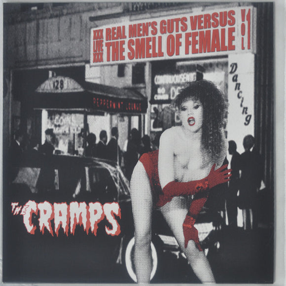 The Cramps ‎- Real Men's Guts Versus The Smell Of Female LP