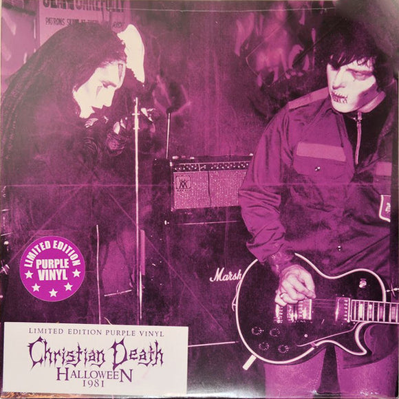 Christian Death ‎- Halloween 1981 LP
