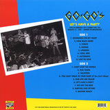 Go Gos' - Let's Have a Party LP