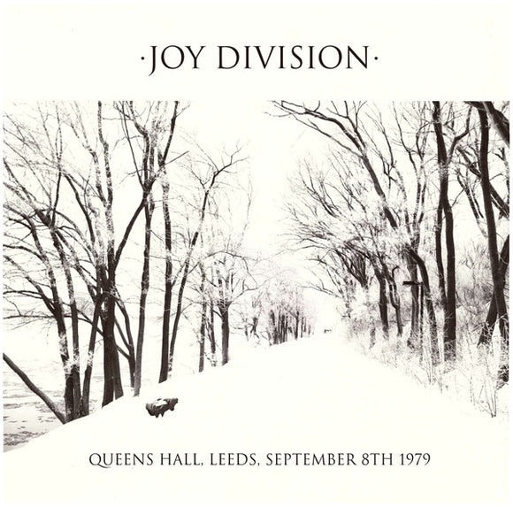 Joy Division ‎- Queens Hall, Leeds, September 8th 1979 LP