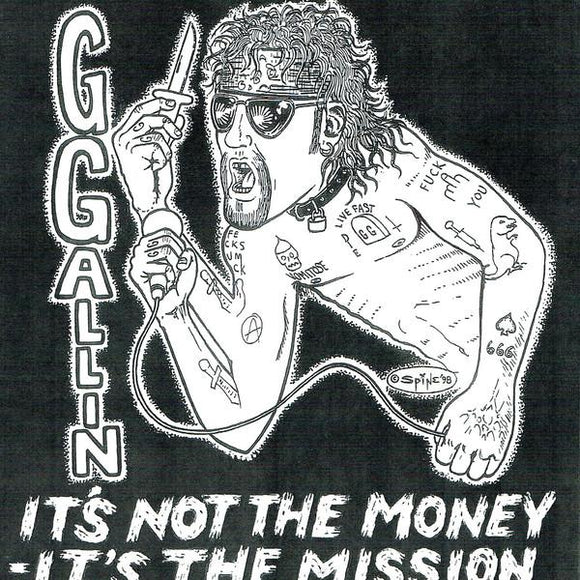 GG Allin ‎- It's Not The Money It's The Mission 7