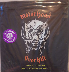 "Motorhead - Overkill 7"" (Exclusive Version) Color/Etched"