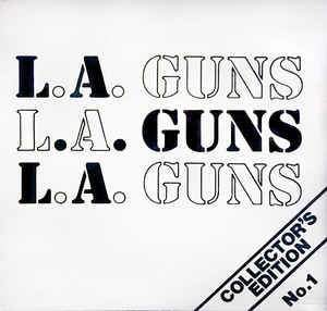 LA Guns - Collectors Edition No 1 LP