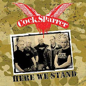 Cock Sparrer - Here We Stand LP + CD + DVD