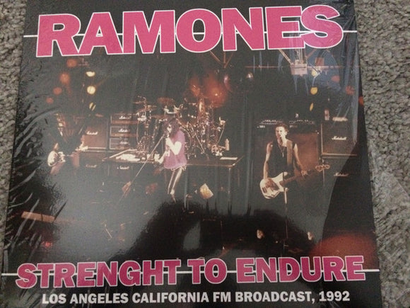 Ramones - Strength to Endure Live LP