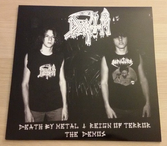 Death - Death By Metal, Reign Of Terror, The Demos LP - DeadRockers