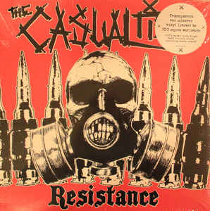 The Casualties ‎- Resistance LP