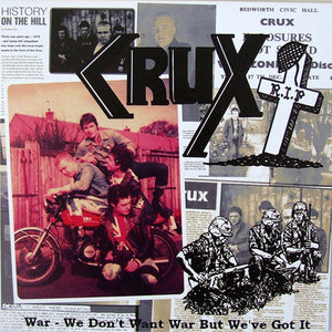 Crux - War LP