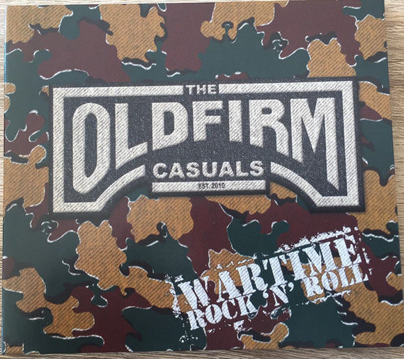 Old Firm Casuals - Wartime Rock n' Roll LP