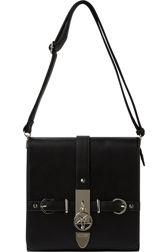 Regina Pentagram Buckle Handbag