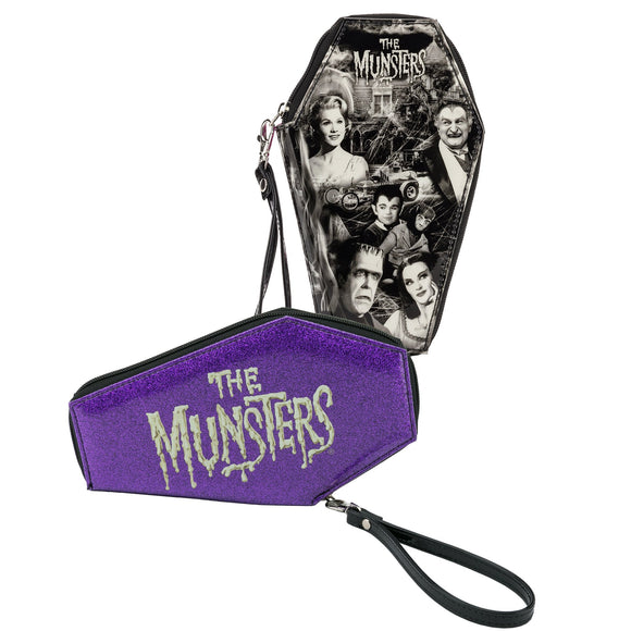 Munsters Glitter Coffin Wallet