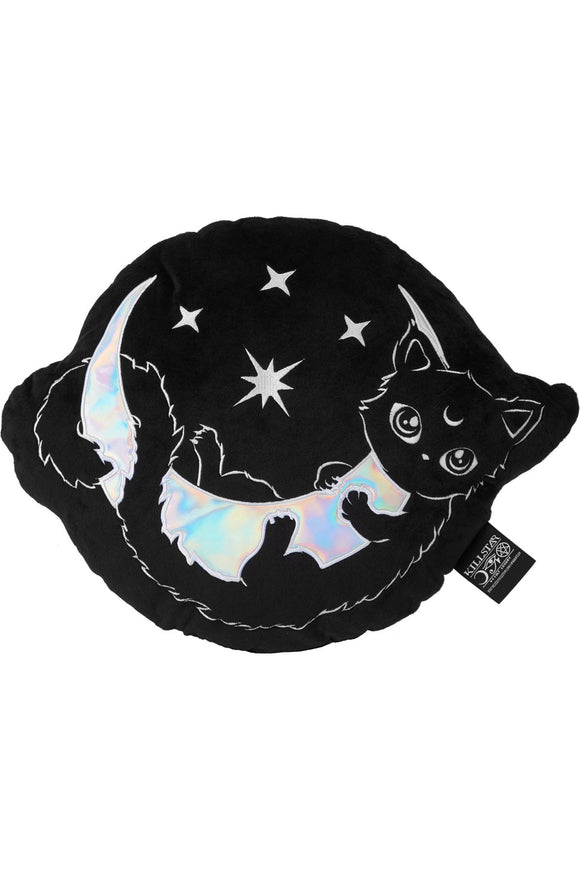 Salem Moon Kitty Cushion Pillow