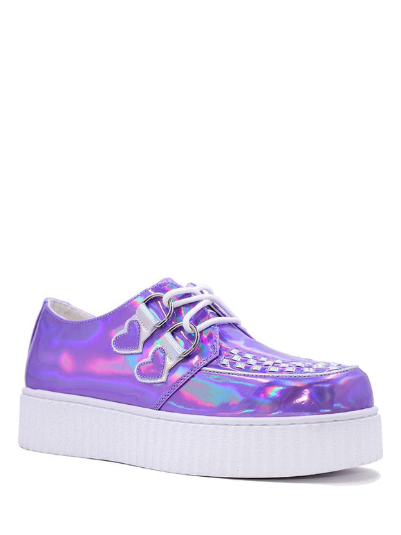 Purple Hologram Krypt Creeper