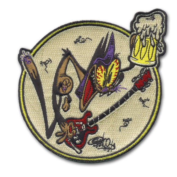 SD Schitzles Der Cat Cartoon Patch