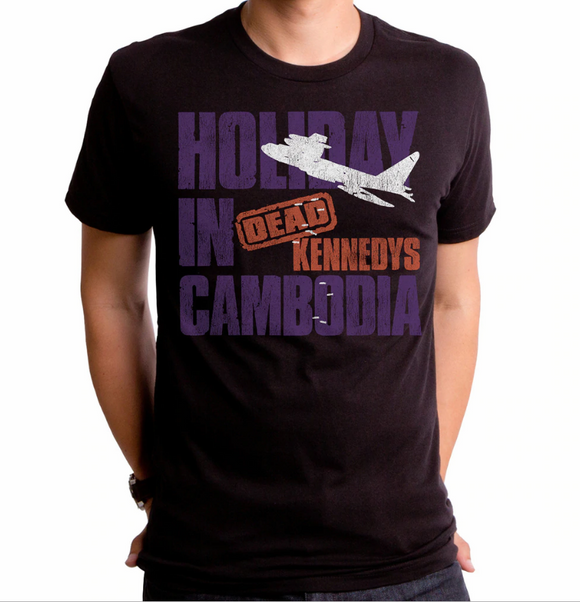 Dead Kennedys Holiday in Cambodia Shirt