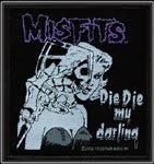 Misfits Die Die Woven Patch - DeadRockers