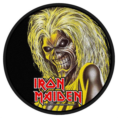 Iron Maiden Killers Face Woven Patch - DeadRockers