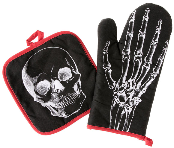 Anatomical Oven Mitt Set